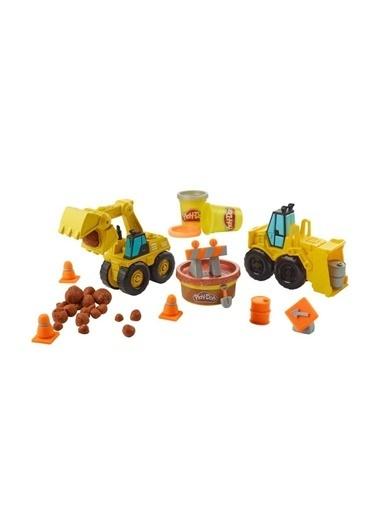 Play-Doh Play-Doh Çalışkan Buldozer Ve Kepçe E4294 Renkli